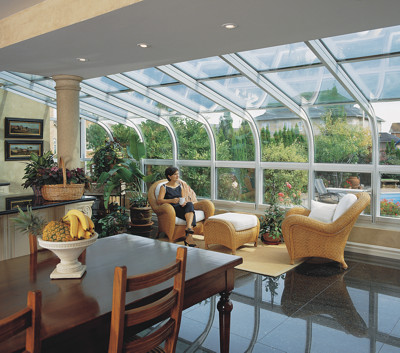 Four Seasons Sunrooms Augusta Georgia-Curved Glass Sunrooms