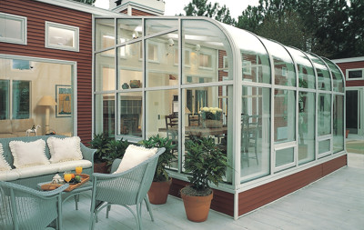 Curved Glass Sunrooms Amp Patio Enclosures Plantation