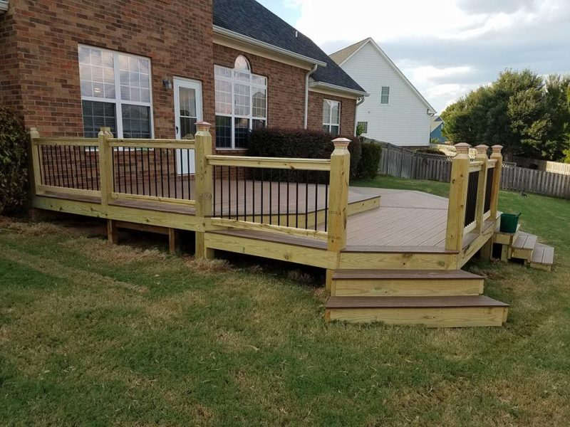 Outside Deck & Railing Construction - Aluminum Products Augusta, Georgia