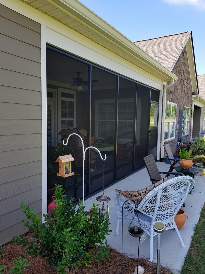 Screen Rooms Amp Outside Decks Plantation Shutters Plus Of
